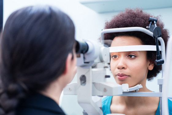 Eye examinations can help you improve your eye health