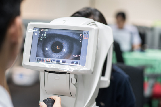 Spot eye conditions early with a thorough eye test