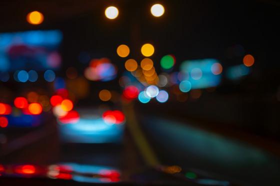Flare of brake lights