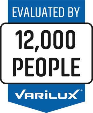 Varilux lenses are evaluated by 12,000 people